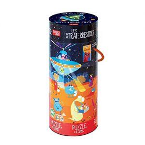 Puzzle + livre les Extraterrestres Sassi  Produits