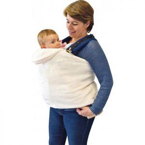Couverture porte-bébé grise Sucre d'orge  Accueil