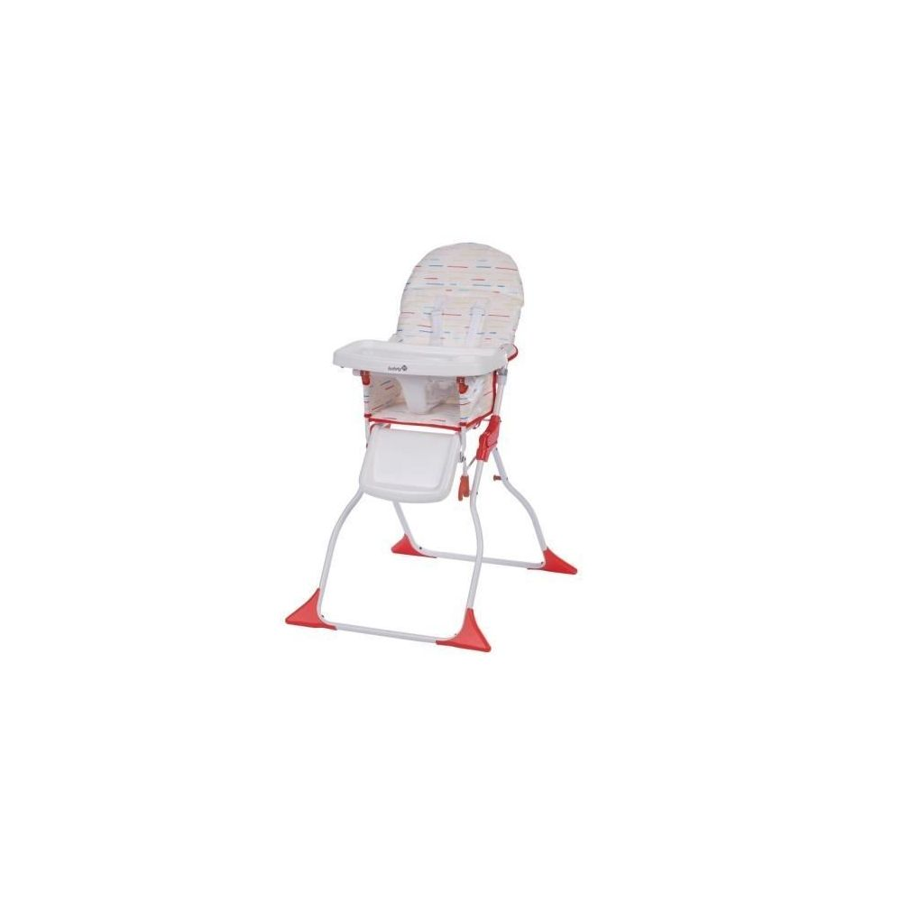 Chaise haute Keeny rouge Safety first  Produits